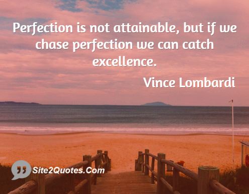 Inspirational Quotes - Vince Lombardi
