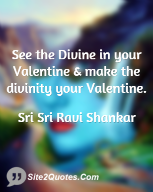 Love Quotes - Sri Sri Ravi Shankar