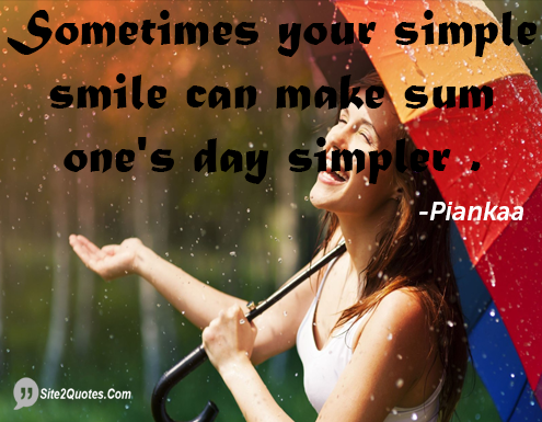 Smile Quotes - Piankaa