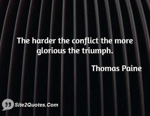 Motivational Quotes - Thomas Paine