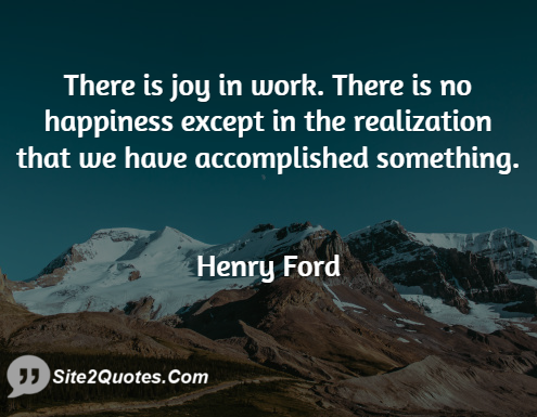 Happiness Quotes - Henry Ford
